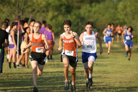 Boys' Cross Country Sweeps Jarrell Meet