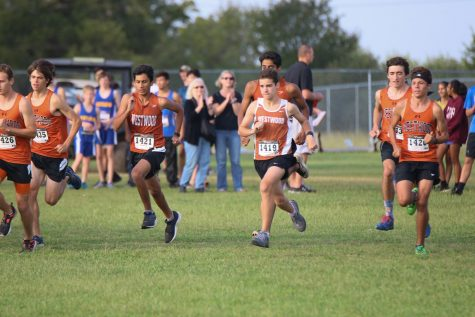 Boys' Cross Country Falls Short at Marble Falls Meet
