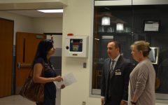 Parents Attend Teacher Presentations at Open House