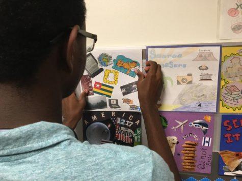 AP Psychology Students Create Quilt Squares