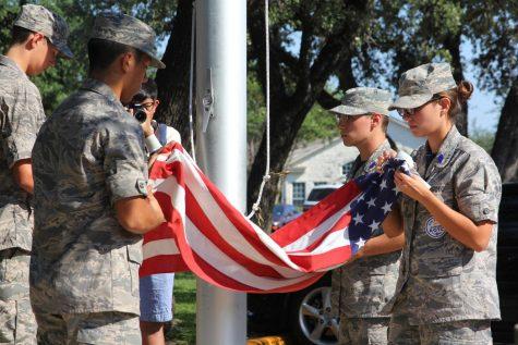 AFJROTC Commemorates 9/11 Attacks