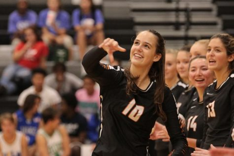 Varsity Volleyball Triumphs over McNeil