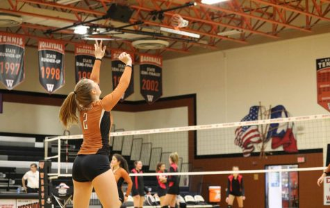 JV Orange Volleyball Falls to Lake Travis