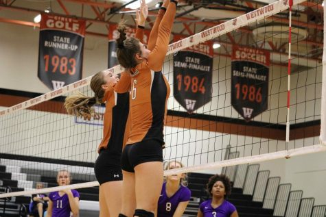 JV Orange Volleyball Falls to Cedar Ridge