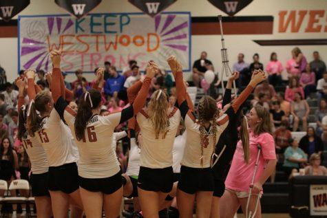 Varsity Volleyball Slips Past the Hawks 3-2