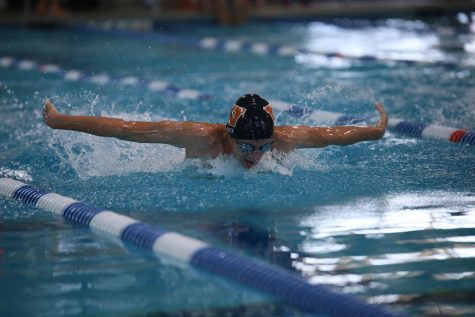 Swim Team Places First for Girls and Boys in Charity Meet