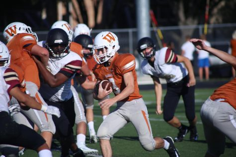 JV Football Takes Down Rouse Raiders 6-0