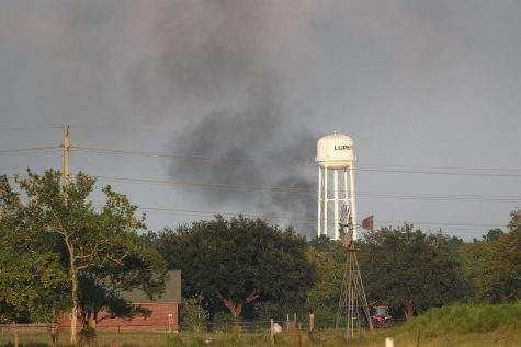 Chemical Plant Near Houston Catches on Fire