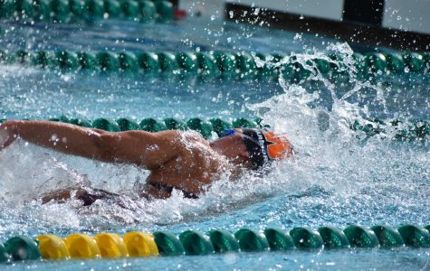 Warriors Swim in 30 Degree Weather at Round Rock Invitational Meet