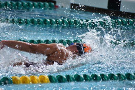 Warriors Swim in 30 Degree Weather at Round Rock Invitational Meet