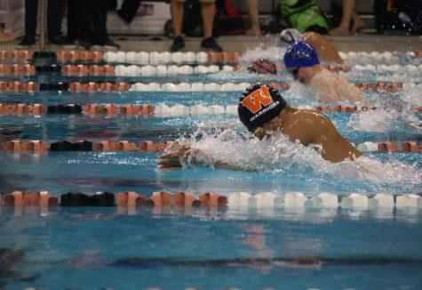 Swim Team Places Third in AISD Invitational Meet