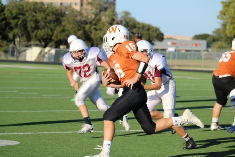 GALLERY: Freshman White Football Slips Under Round Rock 38-6