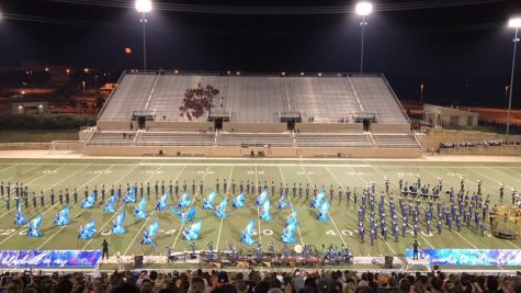 Band Places Second in Vista Ridge Marching Invitational