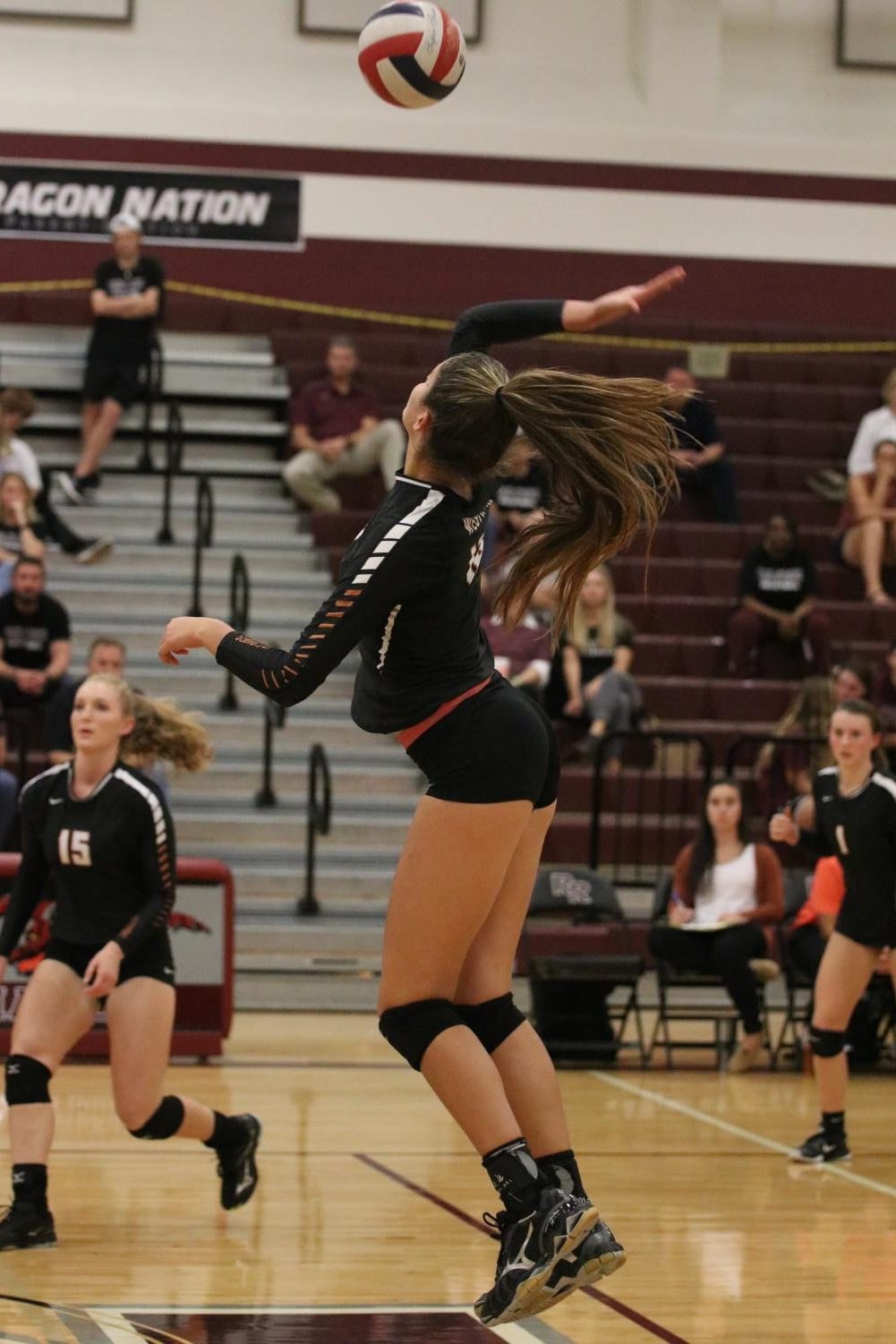 Varsity+Volleyball+Falls+to+Round+Rock+Dragons+3-1