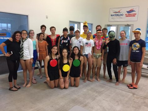 Swim Team Participates in Annual Distance Challenge