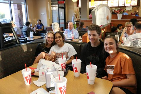 Softball Booster Club Organizes Chick-fil-A Fundraiser