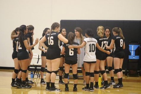 Freshman Volleyball Wipes out the Panthers in Two Sets