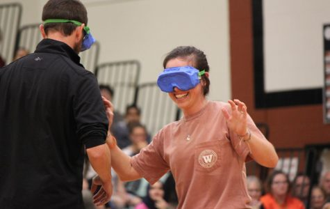 GALLERY: Students Cheer On Teachers in Obstacle Course at Pep Rally
