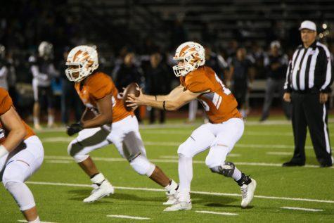 Varsity Football Falls Behind the Raiders 49-3