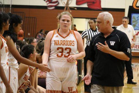 Varsity Girls' Basketball Falls Short to Cedar Park 45-49