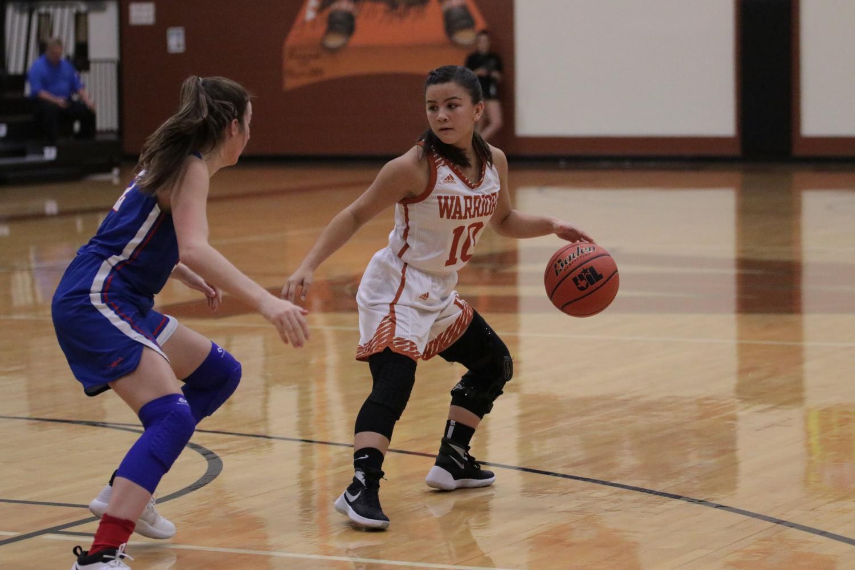 Varsity+Girls%27+Basketball+Falls+to+Westlake+56-40