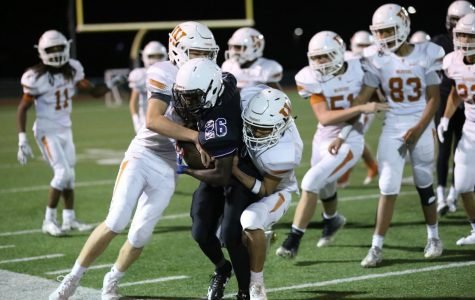 GALLERY: JV Football Suffers Loss Against Cedar Ridge 36-7
