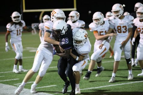 GALLERY: JV Football Suffers Loss Against Cedar Ridge 36-7