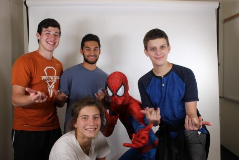 GALLERY: Spider-Man Comes to Meet the Warriors