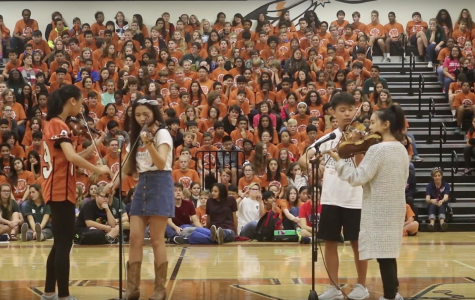 Pep Rally Brings School Spirit to Current and Future Warriors