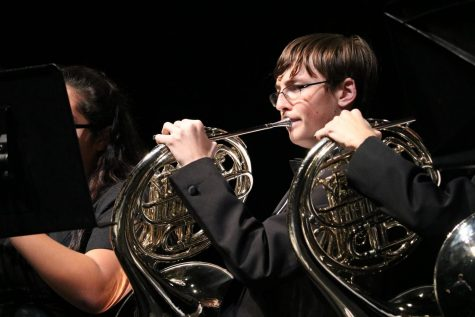Band Takes on Holiday Theme at Winter Concert