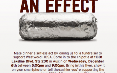 HOSA Conducts Chipotle Fundraiser