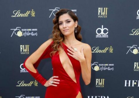 OPINION:  Actress Blanca Blanco Wears Red Instead of Black to the Golden Globes
