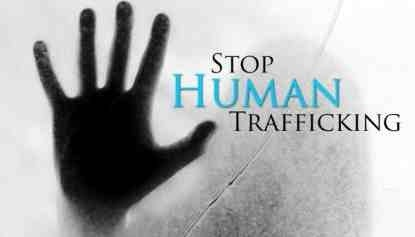 Wear Blue for Human Trafficking Prevention Month