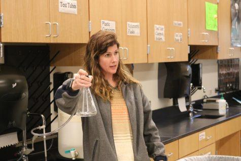 Pre-AP Students Investigate Vapor Pressure
