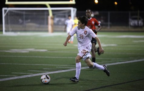 Varsity Boys' Soccer Falls to the Bowie Bulldogs 2-1