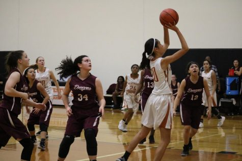 Freshman Girls' Basketball Sweeps Round Rock Dragons 45-21
