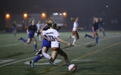Varsity Girls' Soccer Wipes Out Anderson Trojans 2-1