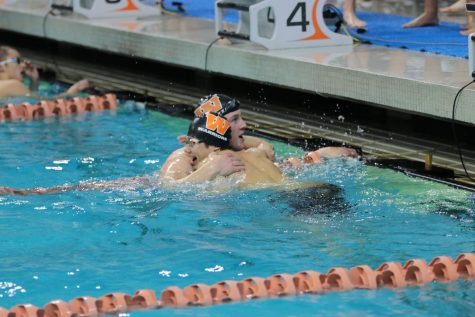 Swim and Dive Sweep District 11-6A Championship Meet