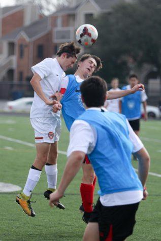 JV Orange Boys' Soccer Ties Vista Ridge 1-1
