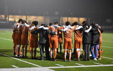 Varsity Boys' Soccer Defeats Round Rock 1-0
