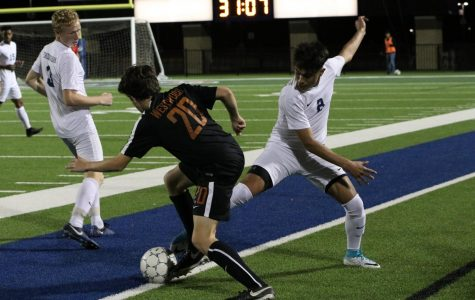 Varsity Boys' Soccer Falls to Hawks 3-0