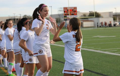 JV Girls' Soccer Wins Over Stony Point Tigers 5-0