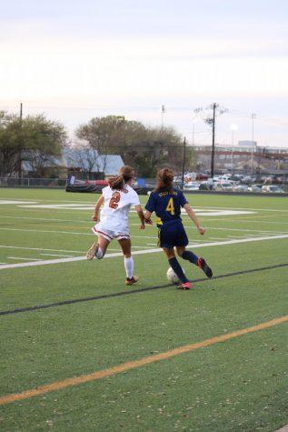 JV Girls' Soccer De-Stripes Tigers 5-0