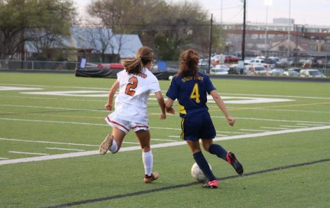JV Girls' Soccer De-Stripes Tigers 5-0
