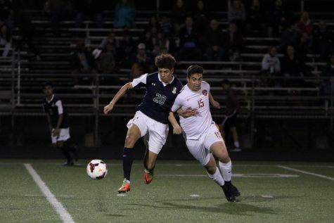 Varsity Boys' Soccer Slays Dragons 3-0
