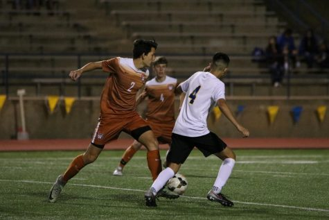 Varsity Boys' Soccer Falls Short to Panthers 3-1