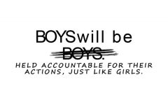 Sexual Assault Awareness Month: The Issue with 'Boys will be Boys'