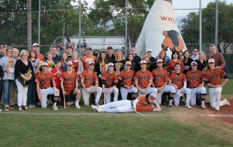 Varsity Baseball Honors Seniors