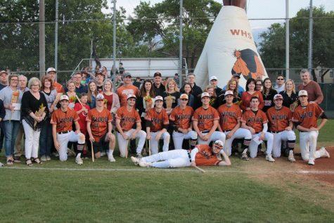 Varsity Baseball Honors Seniors