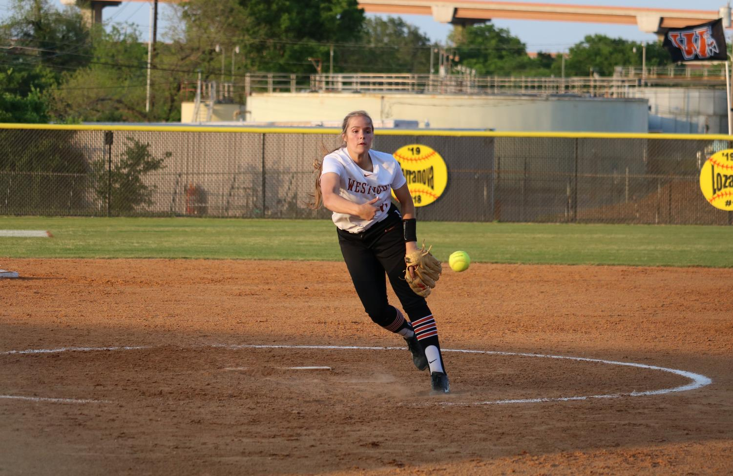 Varsity+Softball+Concludes+Season+Against+Raiders